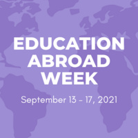 Education Abroad Scholarship Information Session