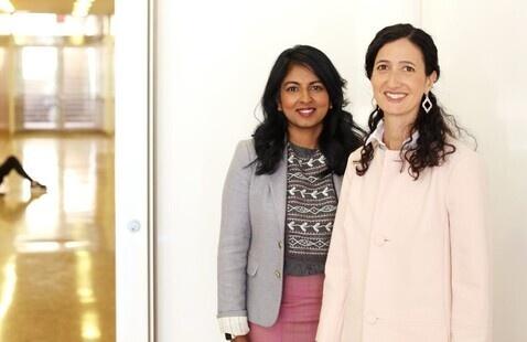 Dr. Viji Sathy and Dr. Kelly Hogan