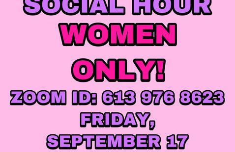 WOMEN'S SOCIAL HOUR