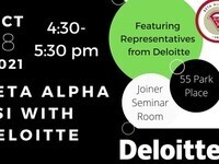 Beta Alpha Psi With Deloitte