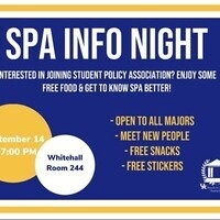 Student Policy Association Infosession