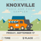 Knoxville Music and Food Sampler