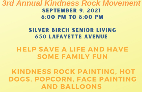 3rd Annual Kindness Rock Movement
