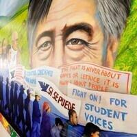 Cesar Chavez Mural at USC