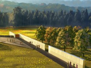A rendering of the Flight 93 Memorial