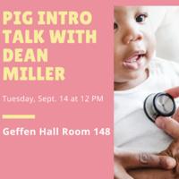 Pediatrics Interest Group Intro Talk