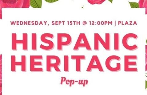 Hispanic Heritage Pop-up