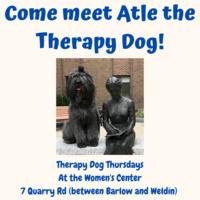 Therapy Dog Thrusdays