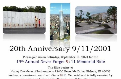 19th Annual Never Forget 9/11 Memorial Ride