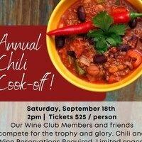 Agua Dulce Winery Chili Cook Off