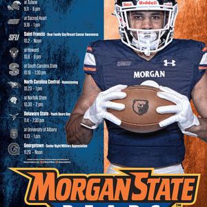 Morgan State Football: Bears vs. Delaware State Hornets