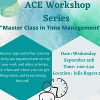 ACE Workshop Series