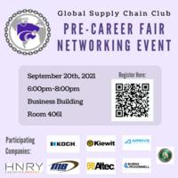 Global Supply Chain Club Pre-Career Fair Networking Event