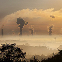 Pollution from power plant