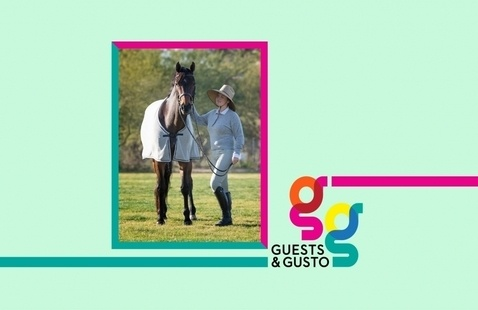 Amplify your voice with equine superstar, publisher, podcaster Piper Klemm on 'Guests and Gusto'