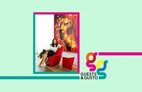Sketch A-list spaces with interior designer Jean Liu on 'Guests and Gusto'