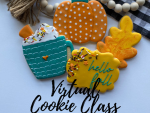 Virtual Cookie Decorating Class