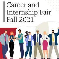 Career and Internship Fair Fall 2021