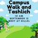 Campus Walk and Tashlich