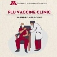Flu vaccine clinic for staff & students. Bring Insurance Card!