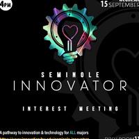 Seminole Innovator Interest Meeting
