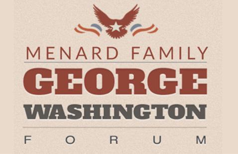 logo Menard Family George Washington Forum
