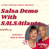 Latinx Heritage Month: Salsa Demo