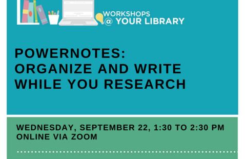 Library Workshop Information