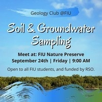 Soil & Groundwater Sampling with Geology Club