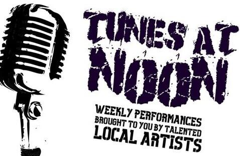 Tunes at Noon poster