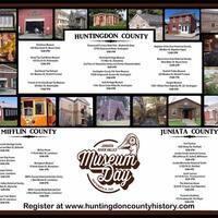 Free Museum Day in Huntingdon, Mifflin, and Juniata Counties