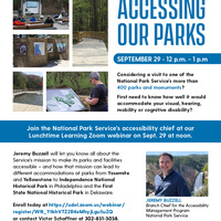 Lunchtime Learning: Accessing Our Parks