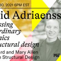 MIT Architecture Lecture: Sigrid Adriaenssens