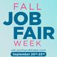 Fall Job Fair Week