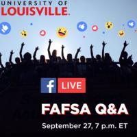 Admissions Facebook Live: FAFSA Q&A