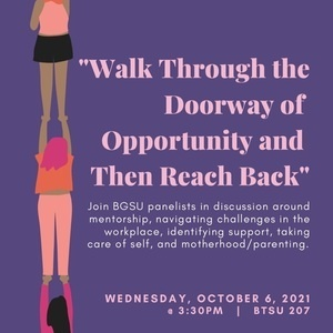 Walk Through the Doorway of Opportunity and Then Reach Back