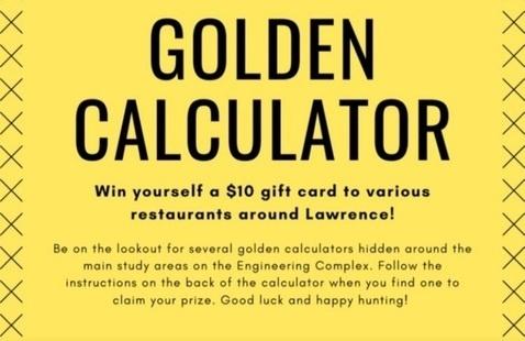 Golden Calculator Hunt