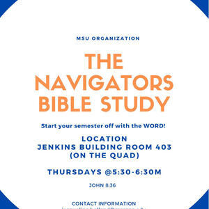 Weekly Event: The Navigators Bible Study