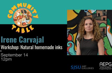 Irene Carvajal [WORKSHOP] Natural homemade inks