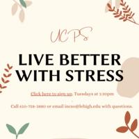 Live Better with Stress: Stress Management