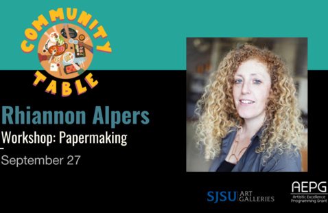 Rhiannon Alpers [WORKSHOP] papermaking