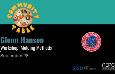 Glenn Hansen [WORKSHOP] Molding Methods