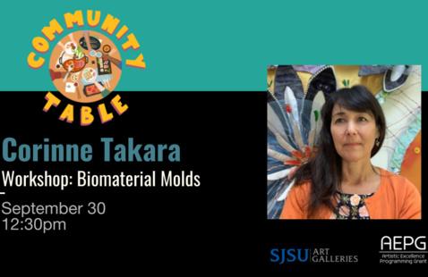 Corinne Takara [WORKSHOP] Biomaterial Molds