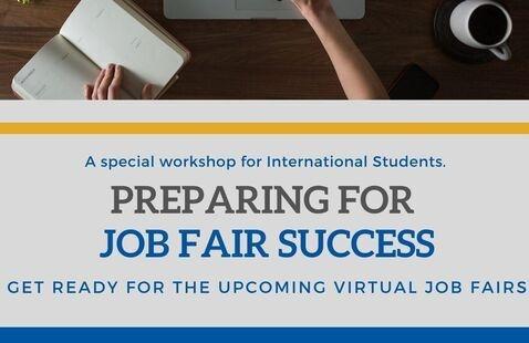 Preparing for Job Fair Success: A Career Workshop for International Students