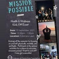 9/15 Health & Wellness Kick Off