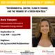 Environment and Sustainability Seminar Series