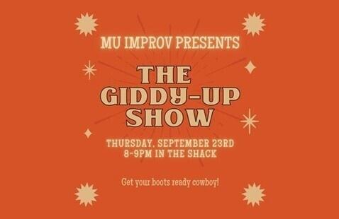 MU Improv: The Giddy-Up Show