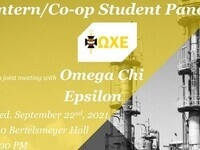 Intern/Co-op Student Panel (Cancelled)