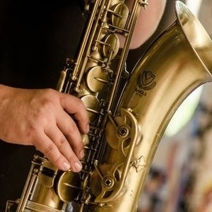 photo of saxophone