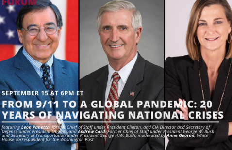 From 9/11 To A Global Pandemic - 20 Years of Navigating National Crises poster
